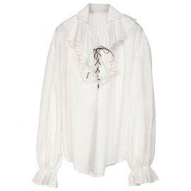 Camisa renacentista blanca xl