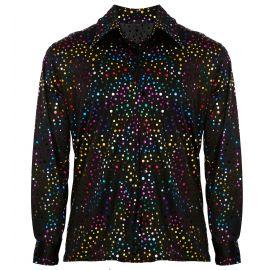 Camisa setentera disco style l/xl