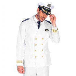 Chaqueta blanca capitan