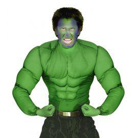 Camiseta musculos verde