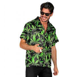 Camisa hojas s/m