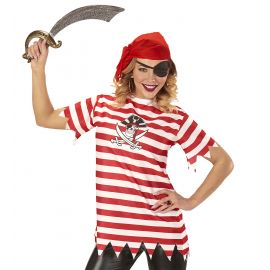Camiseta pirata rayas m/l