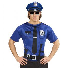 Camiseta policia m/l