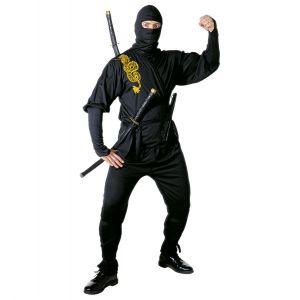 Disfraz ninja negro adt