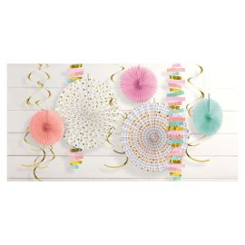 Kit decoracion colores pastel