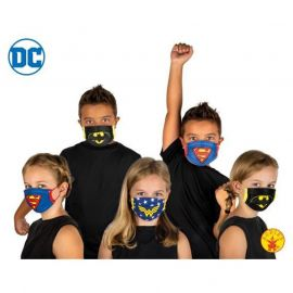 Mascarilla superheroes inf