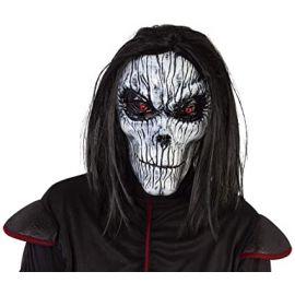 Mascara skeleto con peluca