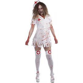 Disfraz enfermera sangre
