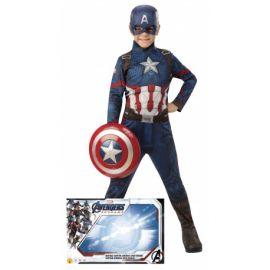 Disfraz capitan america caja con escudo
