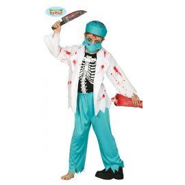 Disfraz doctor zombie inf