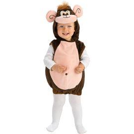 Disfraz bebe monito 1-2