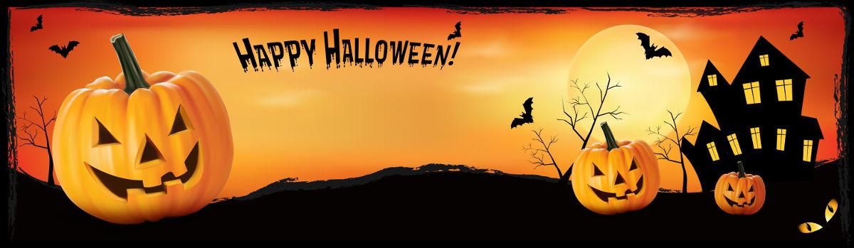 banner halloweeen