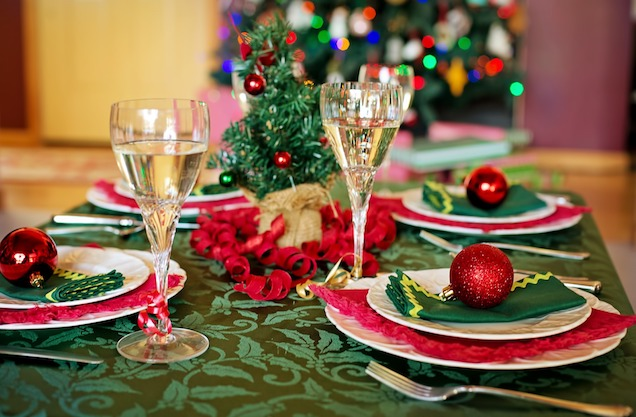 navidad mesa