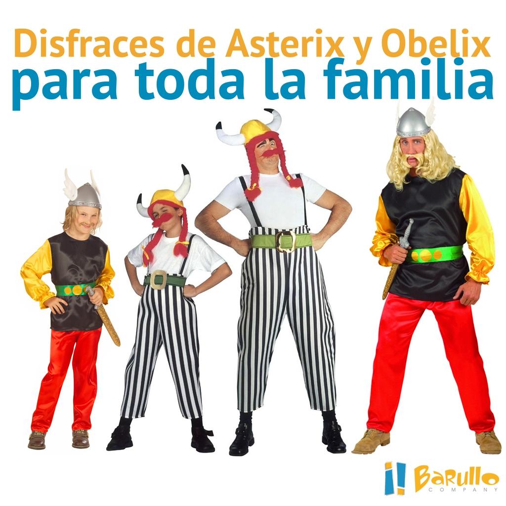 Elige si quieres dar vida a Asterix o a Obelix y después visita nuestra web  en busca de los mejores disfraces con los que estarás perfectamente ... 1a686fe089ec