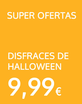 Disfraces Halloween baratos en oferta